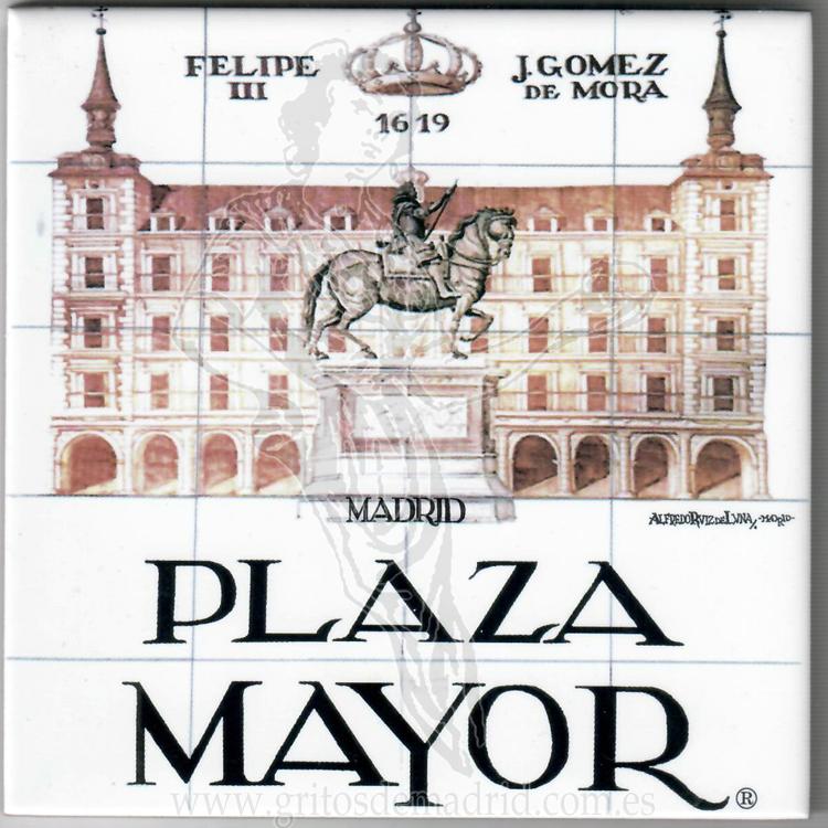 Azulejos Las Calles Del Viejo Madrid Gritos De Madrid