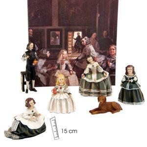 Comprar en nuestra tienda https://gritosdemadrid.com/inicio/82-cuadro-completo-figuras-las-meninas-6-pzas.html