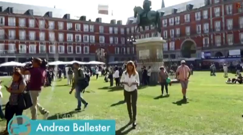 MI CÁMARA Y YO. 400 años de Plaza Mayor.