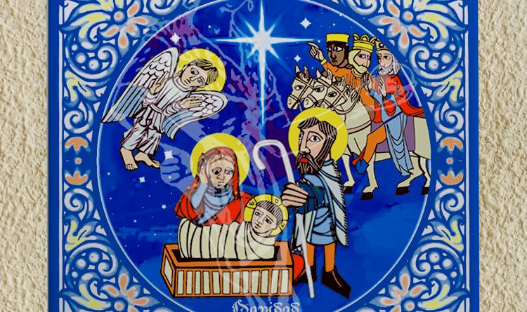 Azulejos y Tazas de Navidad