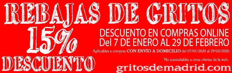 REBAJAS DE GRITOS